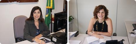 As novas desembargadoras Vólia Bomfim e Giselle Bondim