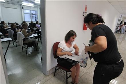 A primeira fase (prova objetiva) do X Exame, com 80 questões, será realizada no domingo  (Foto: Eugenio Novaes)