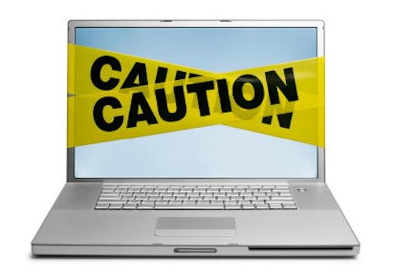 caution internet