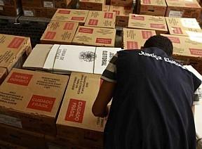 Urnas preparadas em zona eleitoral do Pará