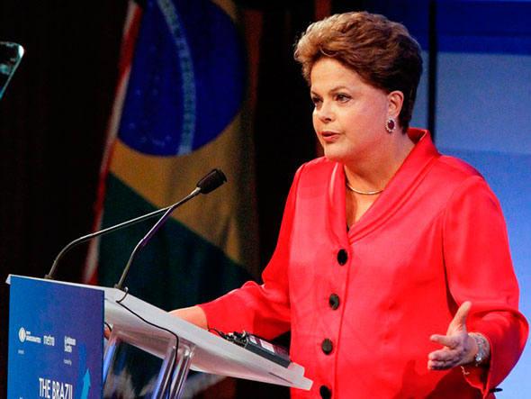 """Dilma durante Encerramento do Seminário Empresarial """"Oportunidades em Infraestrutura no Brasil"""", em Nova York: """"contrato assinado é uma questão de Estado"""", disse"""