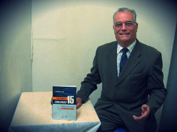 """Delegado da PF José Roberto Lima: """"estudar é igual fazer musculação e, por isso mesmo que estudar cansa"""""""