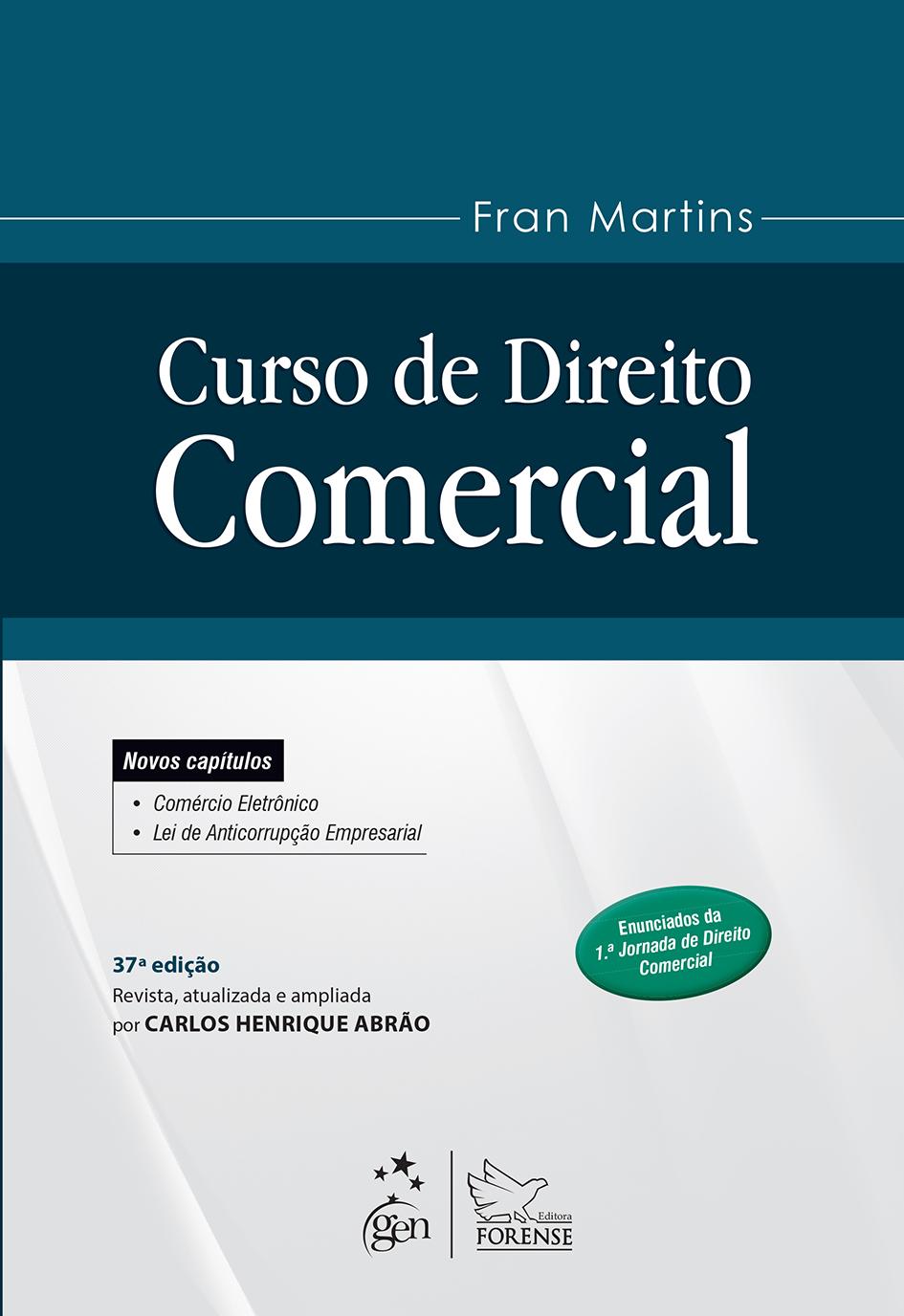capa_Curso de Direito Comercial.indd