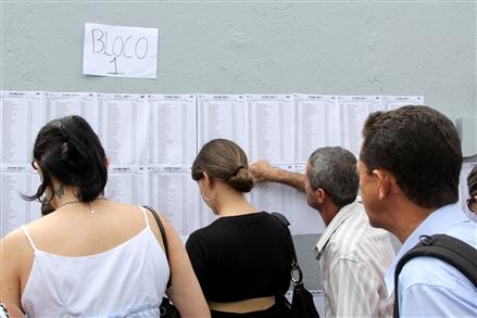 A lista com os nomes dos aprovados está disponível para consulta (Foto: Eugenio Novaes - CFOAB)