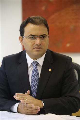 """Marcus Vinicius: """"STJ mostra respeito às prerrogativas ao reconhecer a importância do honorário"""" (Foto: Eugenio Novaes - CFOAB)"""