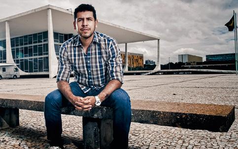 DIREITOS Apesar de aprovado em primeiro lugar em um concurso, Paulo Victor Pereira não foi convocado e agora briga na Justiça para ocupar a vaga