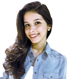 Estudante do 2º período da Faculdade Católica de Rondônia. Aprovada no XIII Exame Unificado da Ordem dos Advogados do Brasil.