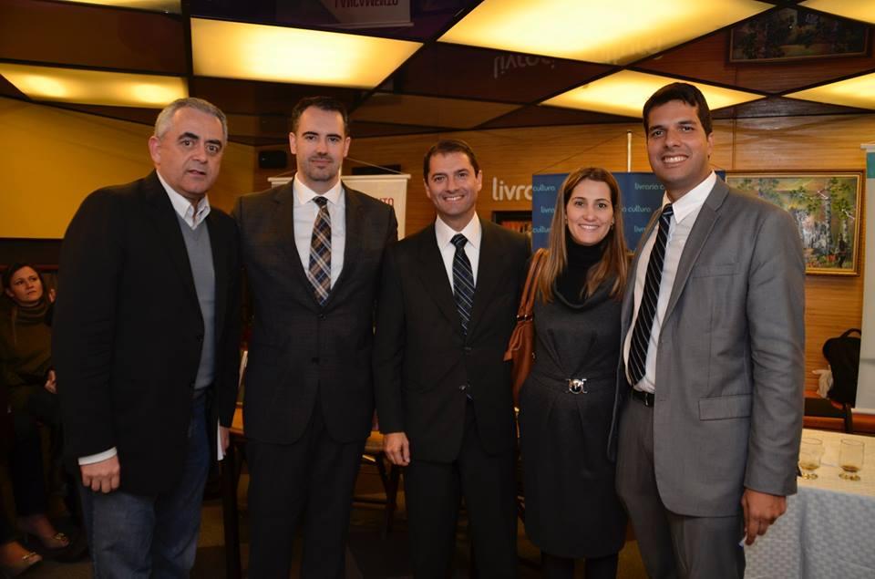 Dr. Luiz Flávio Gomes, Dr. André Ramos Tavares, Dr. Jose Carlos Francisco e Dr. Rodrigo Tenório