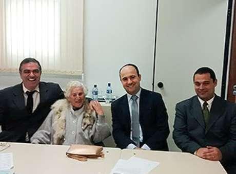 Dona Chames participou de audiências no fórum de Ipatinga Foto: Thaís Dutra/TJ-MG / Divulgação