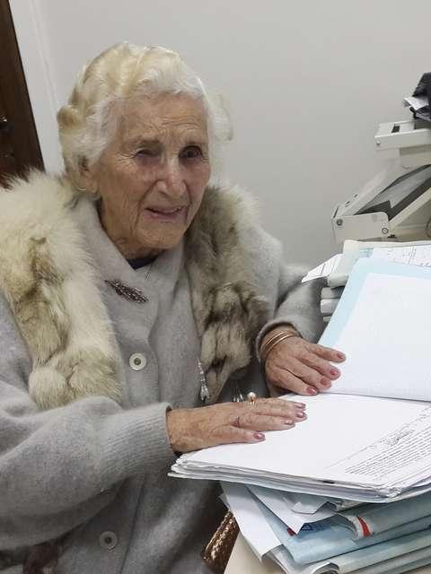 Chames Salles Rolim, 97 anos, irá receber o diploma de bacharel em Direito no dia 7 de agosto em Minas Gerais Foto: Thaís Dutra/TJ-MG / Divulgação